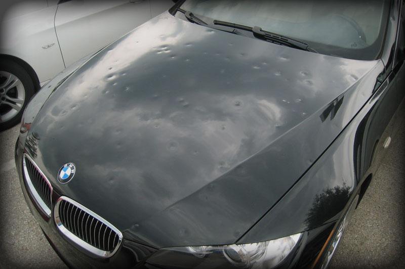 Car Bodywork Hail Damage